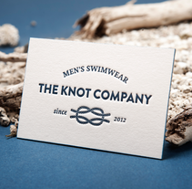 Tarjetas de visita en letterpress The Knot Company. Un proyecto de Diseño, Ilustración y Publicidad de Omán Impresores  - Miércoles, 04 de diciembre de 2013 00:00:00 +0100