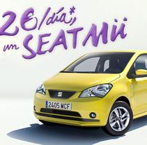 SEAT MII. Un proyecto de Diseño, Ilustración y Publicidad de Adalaisa  Soy - Jueves, 04 de abril de 2013 00:00:00 +0200
