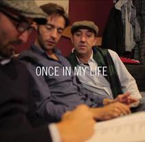 Once in my life. Um projeto de Música e Áudio, Motion Graphics e Cinema, Vídeo e TV de Gonzalo Dubón Bayarri - 07-12-2013