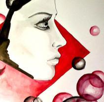 Ilustraciones de moda. Un proyecto de Diseño e Ilustración de Andrea Rodríguez Fernández - 09-12-2013