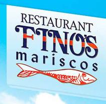 Restaurant FINOʹS . A Design, Illustration, Advertising, Motion Graphics, Software Development&IT project by As Diseño Diseño Web Monterrey         - 11.12.2013