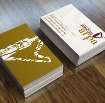 VINATERÍA EL RINCÓN DEL ARPA. Rebranding. Un proyecto de Diseño de ALEJANDRO  CALVO TOMAS - 14-12-2013