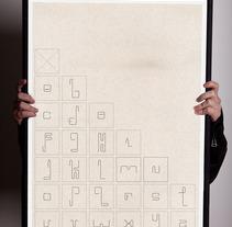 TIPOGRAFíA DISCONTINUA. A Design, Illustration, and Advertising project by Rafa Garcia  - Apr 24 2007 12:00 AM
