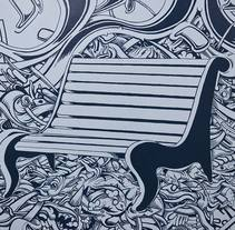 Club Banc del Cannabis. A Design&Illustration project by Jope * - Aug 08 2013 12:00 AM
