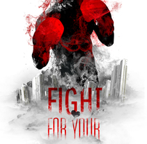 Fight 2013. A Design, Illustration, and Advertising project by Domingo Lozano Del Sol         - 16.12.2013