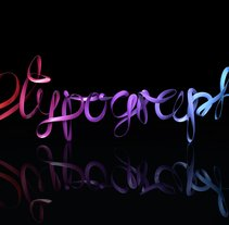 I LOVE TYPOGRAPHY. A Design, and 3D project by Javi Moreno - Dec 24 2013 12:00 AM