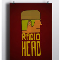 RadioHead!!!. Um projeto de Design e Ilustração de Juanjo-se Peñalver         - 26.12.2013