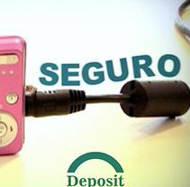Vídeos promocionales. Deposit. Un proyecto de Publicidad, Cine, vídeo y televisión de david  lasheras  - 08-01-2014