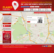 Planes Mahou. A Advertising, and Software Development project by Javier Fernández Molina - 31-03-2013