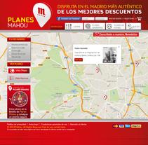 Planes Mahou. Un proyecto de Publicidad y Desarrollo de software de Javier Fernández Molina - Lunes, 01 de abril de 2013 00:00:00 +0200