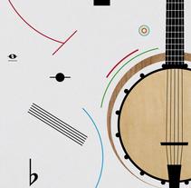 Heineken Jazzaldia. Um projeto de Design, Ilustração e Publicidade de Andrea Ataz - 12-01-2014