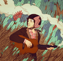 Angel Stanich / Metralleta Joe. A Illustration project by Jon  Juarez         - 01.02.2015