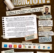 Mi nuevo curriculum. Um projeto de Design de Tomas Ruiz Gonzalez         - 15.01.2014