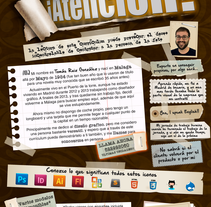 Mi nuevo curriculum. A Design project by Tomas Ruiz Gonzalez         - 15.01.2014