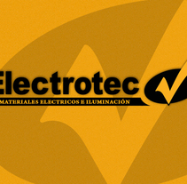 Electrotec Materiales Electricos. A Design, Advertising&Installations project by Julian Sarrat         - 20.01.2012