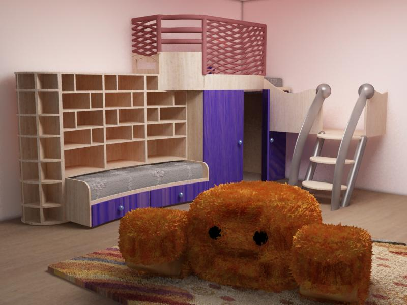 Proyecto dise o de habitaci n infantil domestika - Diseno habitacion infantil ...