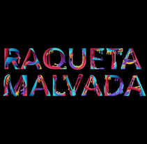 Raqueta Malvada prueba texto orgánico. Un proyecto de Ilustración de Raqueta Malvada De Tenis         - 22.01.2014
