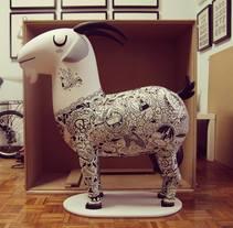 Proyecto Cabra Payoya. Un proyecto de Diseño, Ilustración y 3D de Raúl Gómez estudio - Jueves, 23 de enero de 2014 00:00:00 +0100