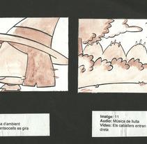 Muestra de Story Board . A Illustration project by david  alcala cerrada - Jan 27 2014 12:00 AM