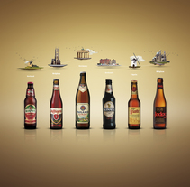 Cervezas de Europa. A Advertising, and Graphic Design project by David Caramés - Oct 10 2013 12:00 AM