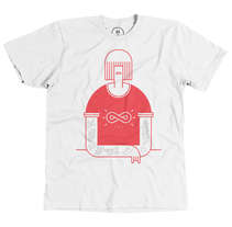 Camiseta: The Girl With The Pynchon Tattoo. Un proyecto de Diseño gráfico e Ilustración de Javier Arce - Miércoles, 05 de febrero de 2014 00:00:00 +0100