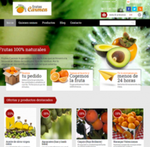 Frutas Carmen. A Web Development project by Alex Peris         - 19.10.2013