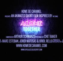 Alone Together. Un proyecto de Animación, Dirección de arte, Diseño gráfico y Tipografía de Jordi Matosas         - 09.03.2012