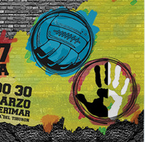 Cartel | II Torneo Fútbol 7 Anti-Racista de El Ejido. A Design, Events, and Graphic Design project by Álvaro Palmero Romero         - 09.03.2014
