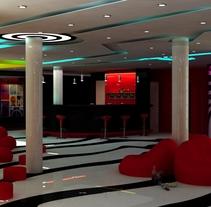 Loby Bar. Um projeto de Design de interiores de Yordany Ovalle Muñoz         - 09.03.2014