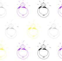 RINGS ALL OVER. A Design, Illustration, Jewelr, Design, and Web Development project by PILAR SIERCO CHÉLIZ         - 10.03.2014