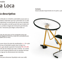 Mesa Loca. A Furniture Design project by Yordany Ovalle Muñoz         - 10.03.2014