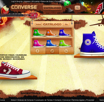 WEB SITE - CONVERSE . A Design, Marketing, Web Design, and Web Development project by Luis Miguel Pittol Mendoza         - 15.03.2014