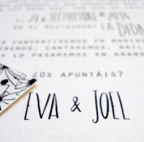 Una bonita historia de amor en papel materica de 360 grs. Un proyecto de Br, ing e Identidad, Consultoría creativa, Diseño y Diseño gráfico de Omán Impresores  - Lunes, 17 de marzo de 2014 00:00:00 +0100