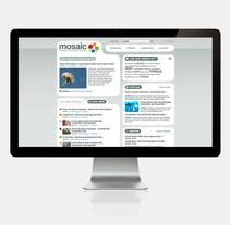Mosaic. A Web Design project by Cristina Fabregas Escurriola         - 17.03.2014