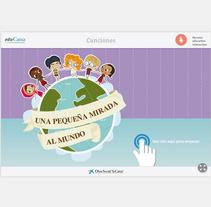 EduCaixa Canciones. A Illustration&Interactive Design project by Cristina Fabregas Escurriola         - 17.03.2014