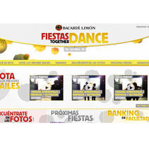 FIESTAS TOGETHER DANCE. A Web Development project by NET CODE ENGINE  - 17-03-2014