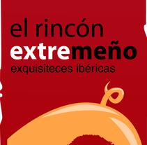 Diseño identidad Corporativa: El Rincón extremeño.. Um projeto de Design e Design gráfico de Sergio Rodríguez Rodríguez         - 24.03.2014