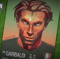 Kampion - Buffon. A Illustration, Game Design, and Graphic Design project by Cristian Eres - 25-03-2014