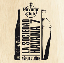 "Microsite ""Bartenders"" Havana7. A Design project by santiago del pozo - 14-02-2014"