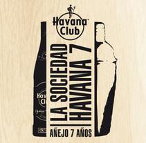 """Microsite """"Bartenders"""" Havana7. Un proyecto de Diseño de santiago del pozo - 14-02-2014"""