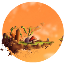 Environments. Un proyecto de Ilustración, Diseño de juegos y Pintura de Ana Pérez         - 27.03.2013