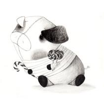 Le rêve du professeur Borax. Un proyecto de Ilustración de Lola Roig - Domingo, 30 de marzo de 2014 00:00:00 +0100