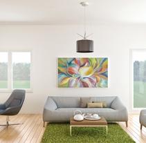 CG INTERIOR (living rooms) 3D RENDER. A 3D, Architecture, Interior Architecture&Interior Design project by Alba Nàjera Carné         - 30.03.2014