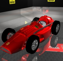AUTO FERRARI SQUALO. A 3D project by Andres Torres A.         - 31.03.2014