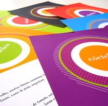 Cartas de cocktail. Un proyecto de Diseño gráfico de Zahira Rodríguez Mediavilla - Miércoles, 02 de abril de 2014 00:00:00 +0200