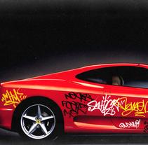 Graffiti Cars. A Design project by Pedro Molina - 04.02.2014