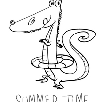 Summer Time. A Illustration project by César Casado - 03-04-2014