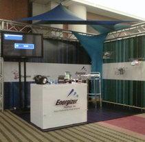 Stand - Energizer en Expotrabajo. A Design project by Gloria Santeliz - 05-05-2012