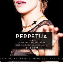 Perpetua. Un proyecto de Dirección de arte, Br, ing e Identidad y Diseño gráfico de CELINA SABATINI Diseño & Comunicación Estratégica - 10-04-2014