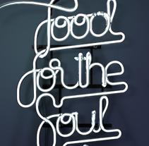 FOOD FOR THE SOUL!!. Um projeto de 3D de Carlos Vidriales Sánchez         - 15.04.2014